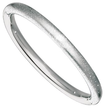 344834-Rhodium Stardust Bangle
