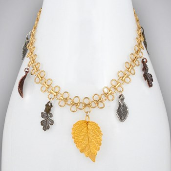 312936-Leaf Necklace