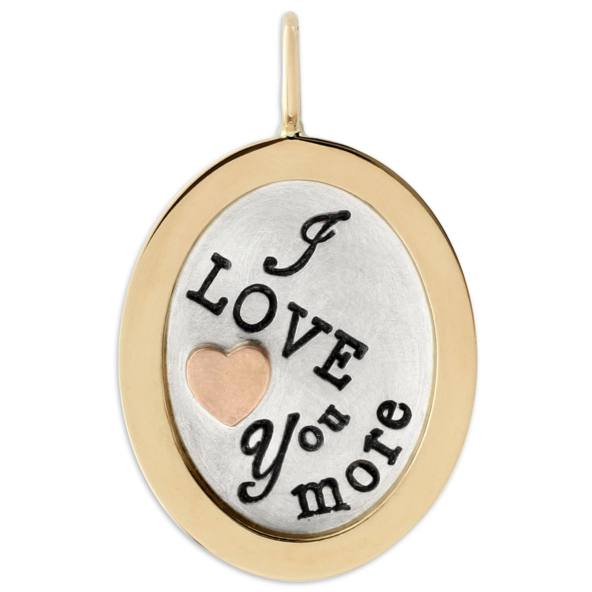 "340840-Heather Moore ""I Love you more"" Pendant"