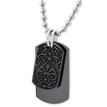 Heritage Dog Tag Necklace-340781