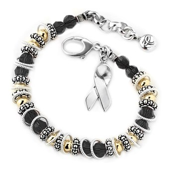 217101-Melanoma Cancer - Spectacular Awareness Bracelet