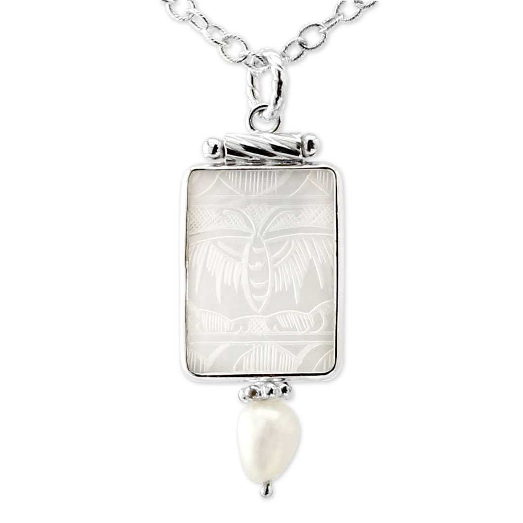 341797-Donna Chambers Square Gambling Chip Necklace