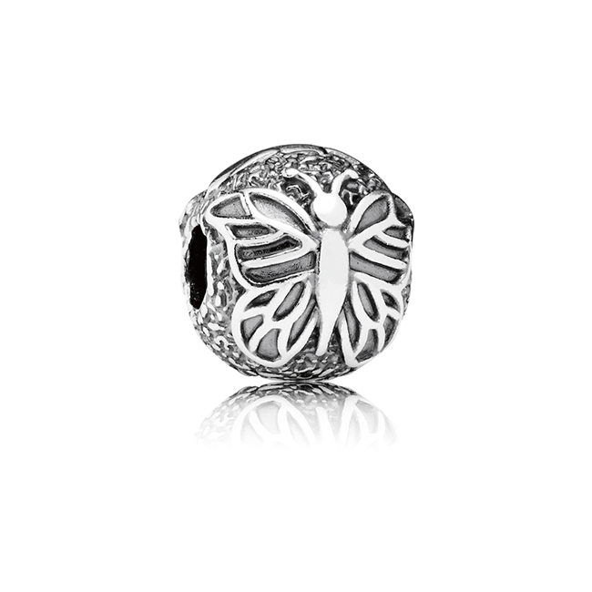 346376-PANDORA Lacewing Butterfly Clip