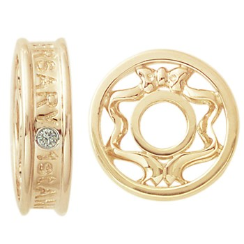 Storywheels Diamond 1 Year Anniversary 14K Gold Wheel ONLY 1 AVAILABLE!-263054