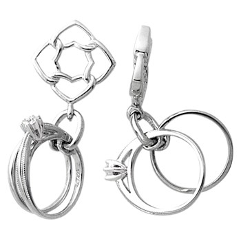 Storywheels Diamond Rings Dangle Sterling Silver Wheel-335659
