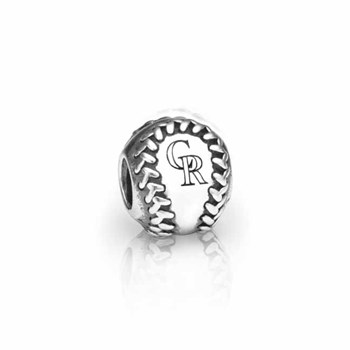 346613-PANDORA Colorado Rockies Baseball Charm RETIRED ONLY 2 LEFT!