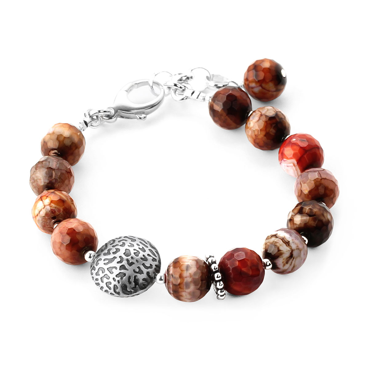 348693-Lollies Red Agate Bracelet