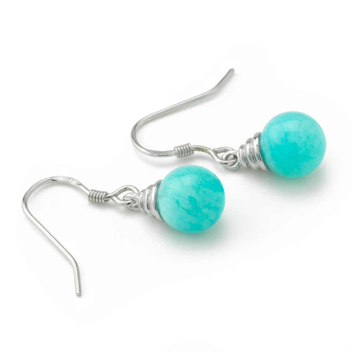Small Amazonite Earrings-645-660