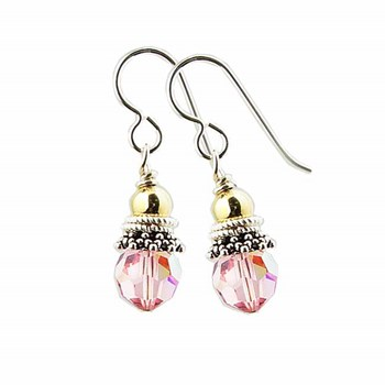 Spectacular Breast Cancer Awareness Earrings-179355