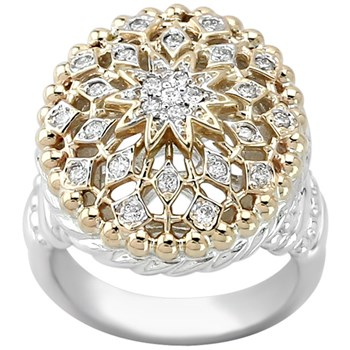 130-193-Filigree Diamond Ring
