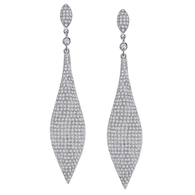 341036-Icicle Pavé Drop Earrings