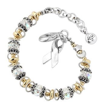 Lung Cancer Awareness Bracelet-179225