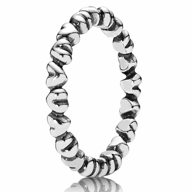 190837-PANDORA Forever Love Stackable Ring