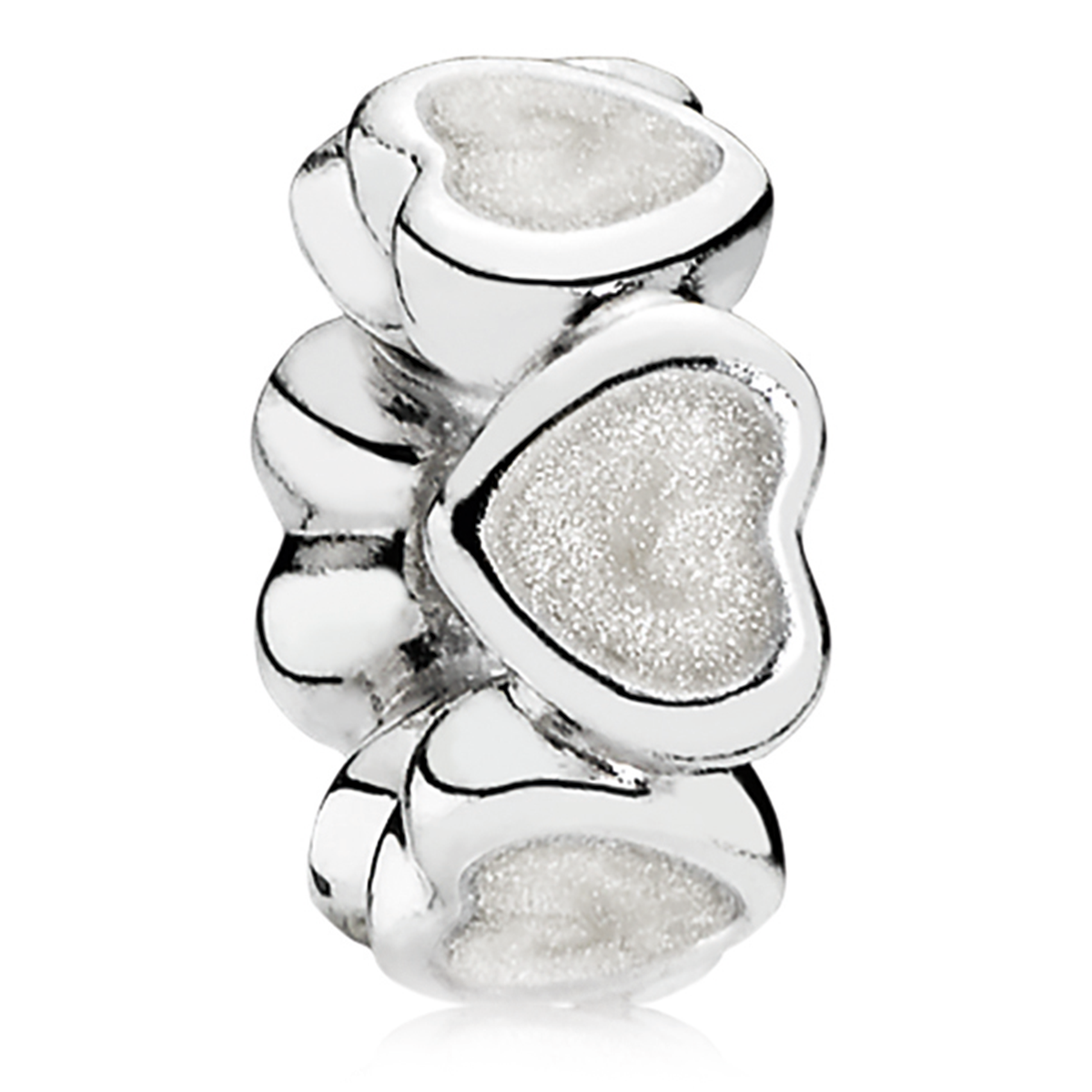 802-3138-PANDORA Abundance of Love with Silver Enamel Spacer