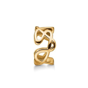 STORY by Kranz & Ziegler Gold-Plated Doodle Ring Spacer