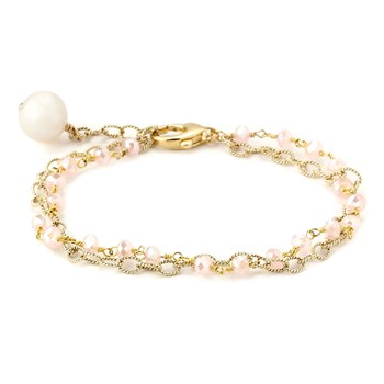 347582-Mystic Rose Quartz Single Bracelet