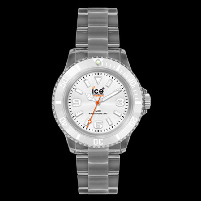 337701-Ice Clear White Watch ONLY 2 LEFT!
