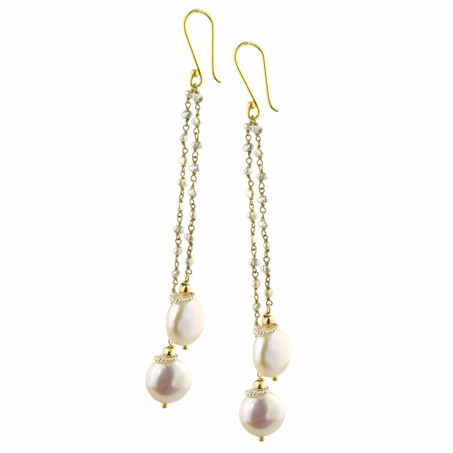 204842-Keishi Pearl Earrings