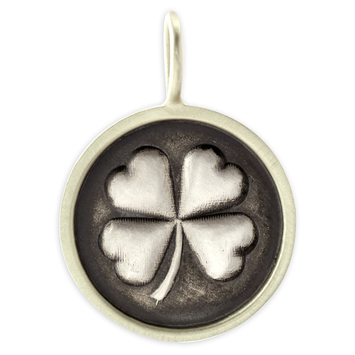 341309- Sterling Silver Clover Charm