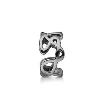 STORY by Kranz & Ziegler Black Rhodium Doodle Ring Spacer