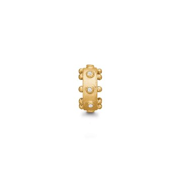 STORY by Kranz & Ziegler Gold-Plated Gear Ring Spacer