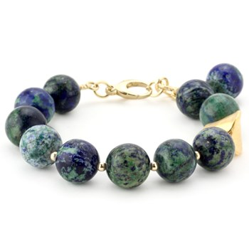 Lollies Azurite and Malachite Bracelet 344491