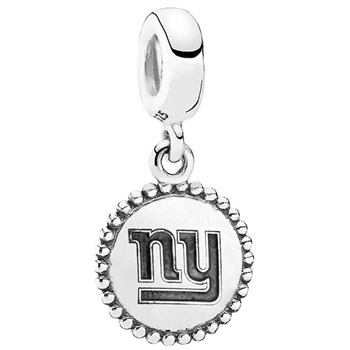 346561-PANDORA New York Giants NFL Hanging Charm