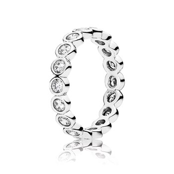 PANDORA Alluring Brilliant with Clear CZ Ring