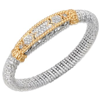 Filigree Diamond Bracelet-338597