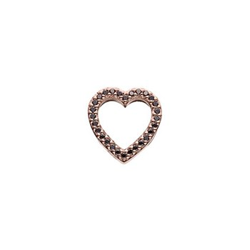 STORY by Kranz & Ziegler Rose Gold Plated Symbol of Love Button-346937