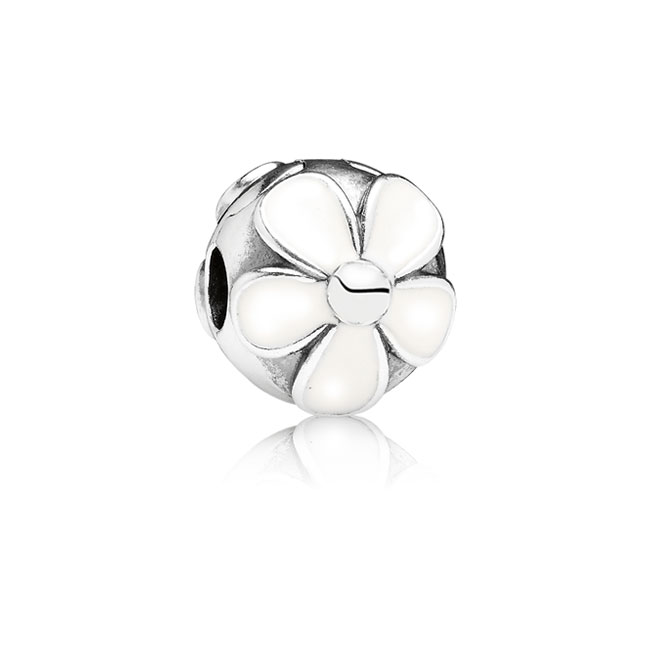 346380-PANDORA Darling Daisies with White Enamel Clip