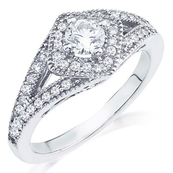 345534-Azalea Diamond Ring
