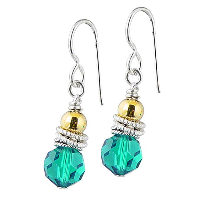 190688-Ovarian, Cervical & Uterine Cancer Awareness Earrings