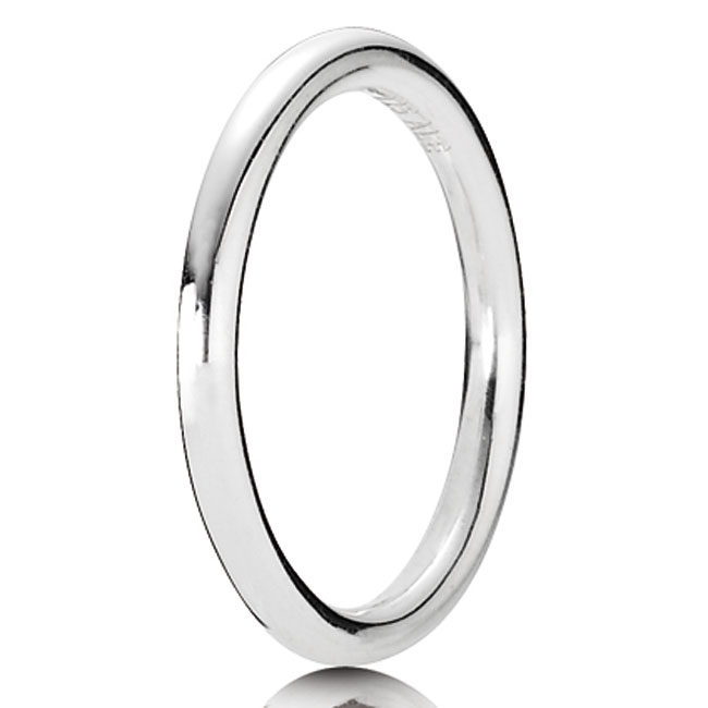 PANDORA Quietly Spoken Stackable Ring 190616