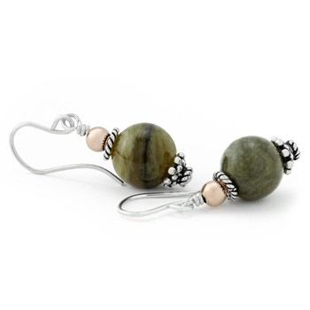 210-702-Green Tourmaline Earrings