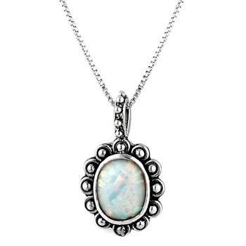 October Trick or Sweet Birthstone Necklace 342766