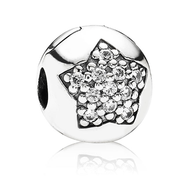 341738-PANDORA You're A Star with Clear CZ Clip