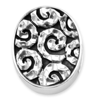338257-Lori Bonn Starry Nights Motif Slide Charm LIMITED EDITION LIMITED QUANTITIES!