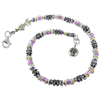 Pancreatic Cancer Miyuki Style Awareness Bracelet -282505
