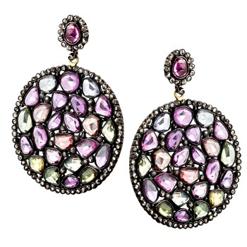 342464-Sapphire & Diamond Earrings