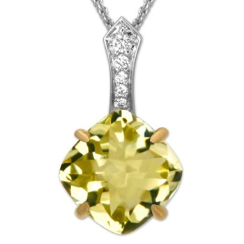 Limon Jelly Bean Necklace-336538