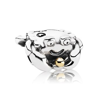 343432-PANDORA Happy Crab with 14K Charm RETIRED