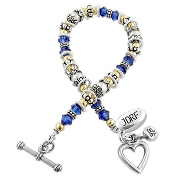 223874-Juvenile Diabetes (JDRF) Awareness Bracelet