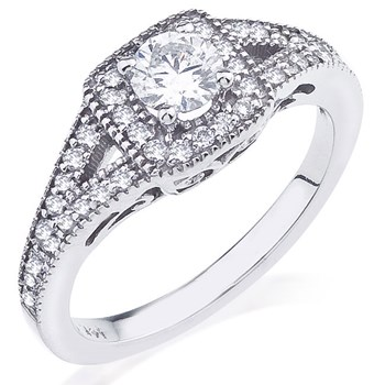Jasmine Diamond Ring-345533