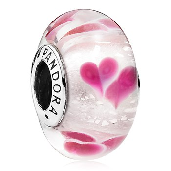 PANDORA Wild Hearts Murano and German Glass