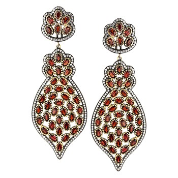 347227-Garnet Earrings