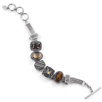 336625-Lori Bonn Brown Eyed Girl Charm Bracelet ONLY 1 LEFT!