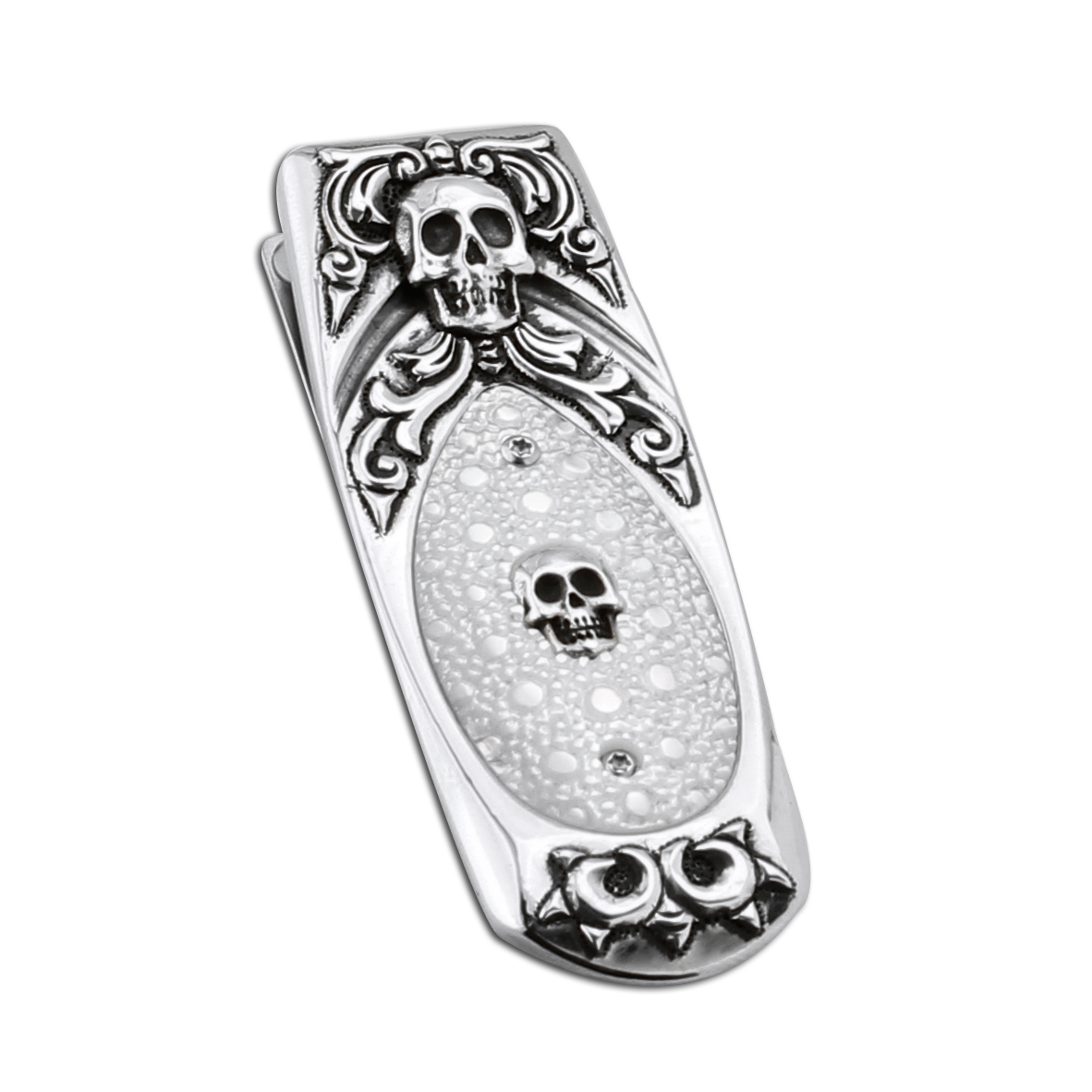 347798-William Henry Geneva 'Cranio' Money Clip