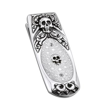Geneva 'Cranio' Money Clip 347798
