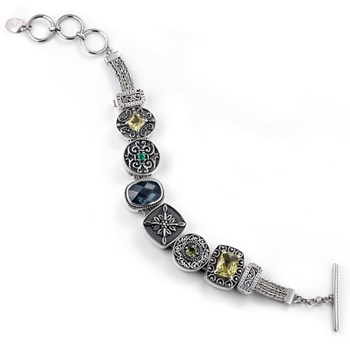 336470-Lori Bonn Tree Hugger Charm Bracelet ONLY 1 LEFT!